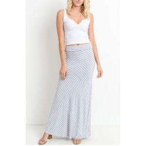 Heather Grey and White Skirt